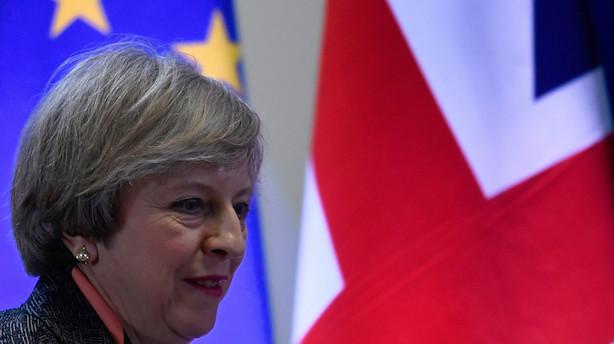 Analyse: May starter to års højspændt politisk tovtrækkeri