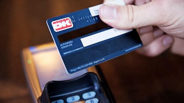 Nets: Dankortet satte påskerekord
