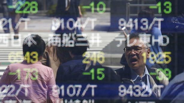 Aktier: Højt humør på asiatiske markeder efter skattenyt fra Trump