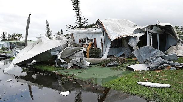 Irma drejede til højre, så Florida undgik den fulde katastrofe