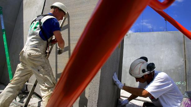 Byggebeskæftigelsen på højeste niveau i otte år