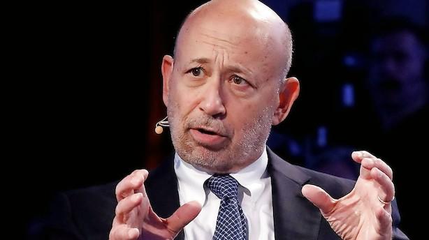 Medie: Goldman Sachs' topchef stopper