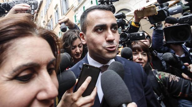 """Nordea om markedsuro i Italien:""""Planerne om et farvel til euro kan meget hurtigt komme tilbage på bordet"""""""
