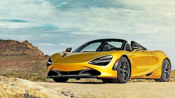 McLaren 720S Spider: Ørkenkriger under åben himmel i Arizonas ørken