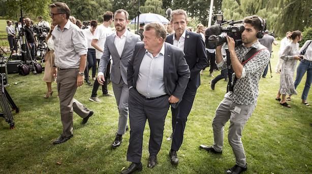 Helle Ib: Det her kan redde Lars Løkke - Kristian Jensen har groft sagt tre muligheder nu