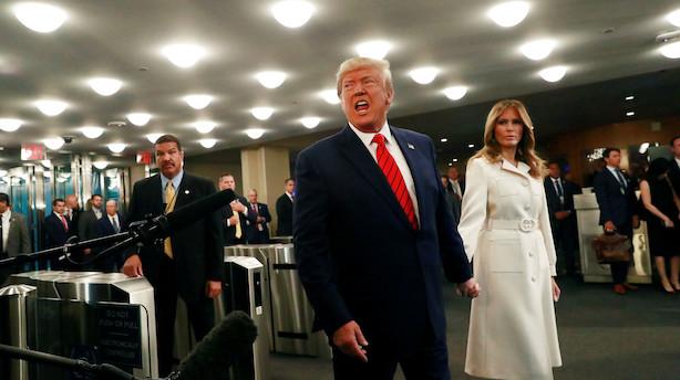 Trump i FN: Fremtiden tilhører patrioterne