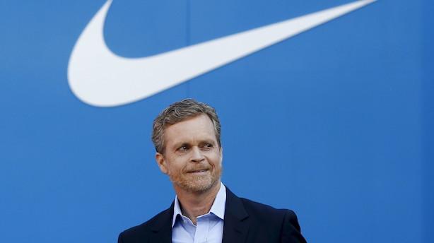 Nike-topchef stopper efter skandaler og aktiestigning på 815 pct