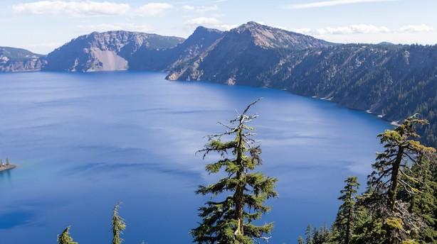 Kom på dybt vand i USA's dybeste sø
