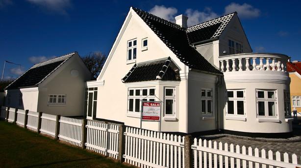 Flere huse til salg i Danmark