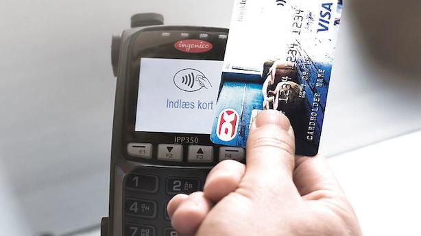 Nets når milepæl: Hver anden betaling med Dankort er nu kontaktløs