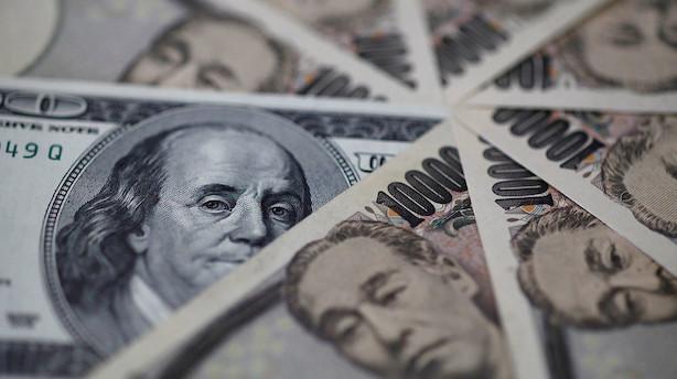 Valuta: Stærk dollar efter nye tegn på soliditet i USA's økonomi