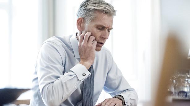 Kursklø til Danske Bank: 16 mia kr høvlet af markedsværdien