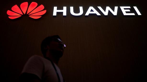 Storbanker stopper samarbejde med Huawei: Risikoen er for stor