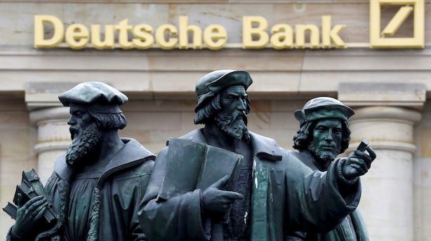 Deutsche Bank skrotter aktieaktiviteter og varsler fyringer