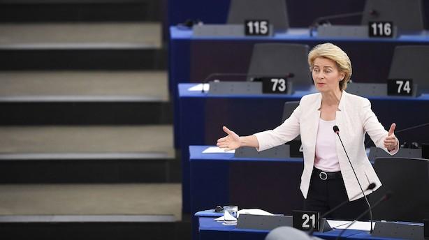 Erhvervslivet tilfreds med grønne ambitioner hos EU's kommende kommissionsformand