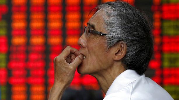 Morgenbriefing: Aktier trykket af optrappet handelskrig, størst risiko for økonomisk tilbageslag siden finanskrisen