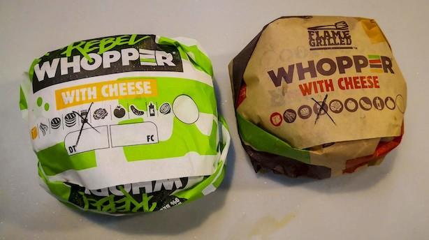 Burger King har lanceret en grøntsagsburger, sådan smager den