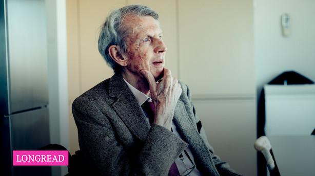 """87-årige Finn Harald Simonsen opfører spektakulært højhus i hovedstaden: """"Man siger ellers, man skal holde op i tide, men det har jeg så ikke gjort"""""""