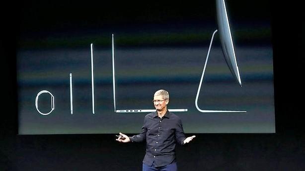 Apple investerer milliarder i Danmark