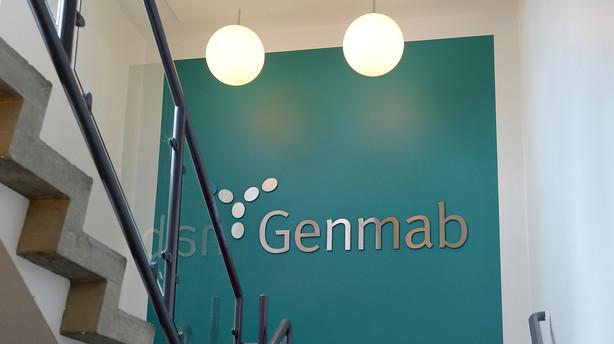 Aktier: Kun Genmab kom grønt ind i det nye år