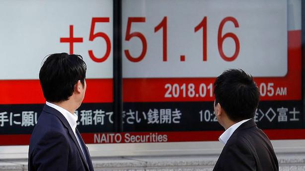Aktier: Asiatiske markeder ser markante stigninger