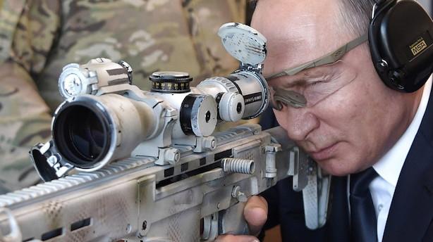 Rusland sælger nu flere våben end Storbritannien: Her er de tre største våbenproducerende lande i verden
