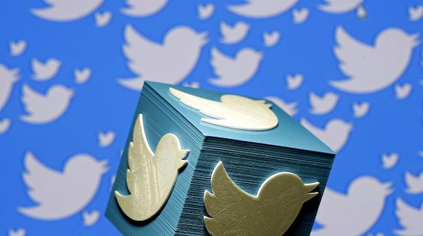 Aktiestatus i USA: Regnskabsløft til rekordniveau - Twitter-aktien letter