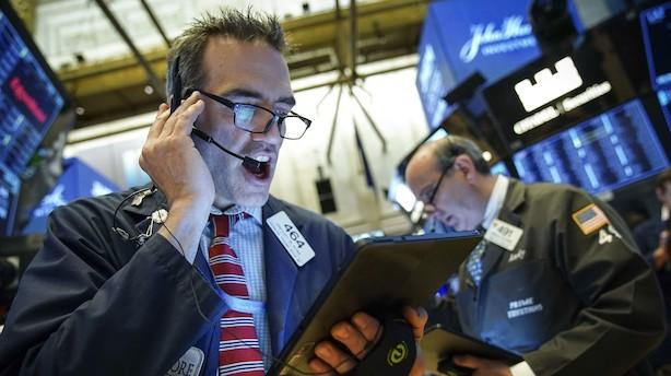 Aktieluk i USA: Rekordridtet fortsatte - Bankaktier i top