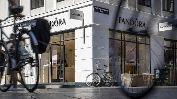 Aktiestatus: Pandora stiger til tops i stille marked