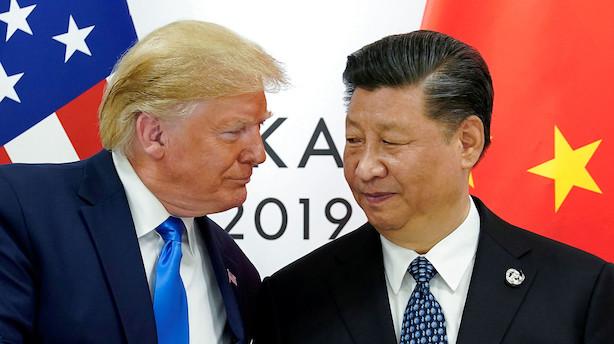 Amerikanske finansfolk: Trump har muligvis givet Kina et forspring i handelskrigen