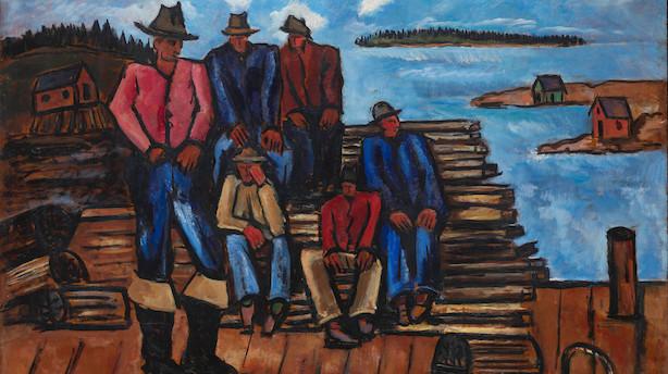 Femstjernet udstilling på Louisiana: En kompromisløs maler med stor spændvidde