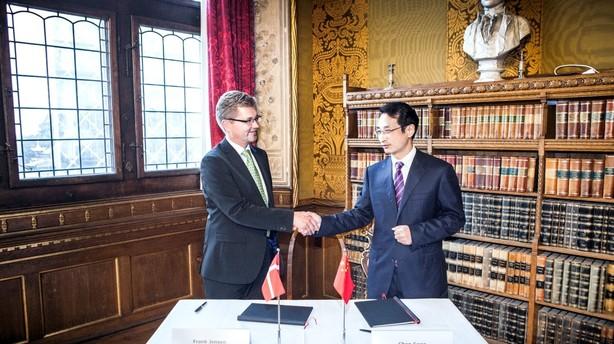 Aftale skal sende kinesiske penge til København