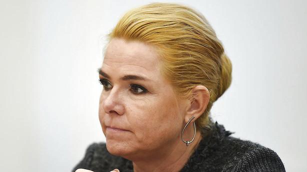 Støjberg åben for at sende afviste asylansøgere til øde danske øer