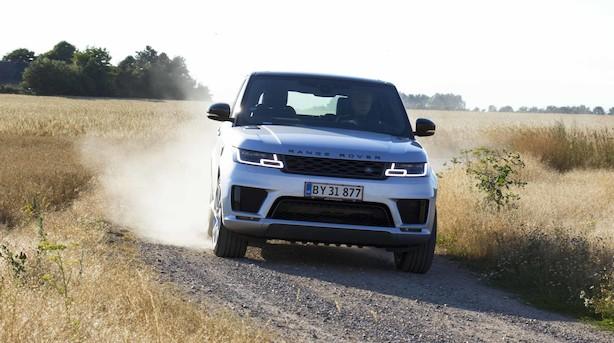Range Rover Sport: Stor bamse er mest til overklassen