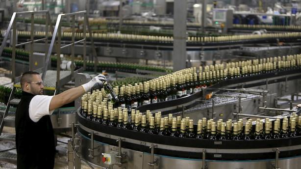 Kartelmistænkte bryggerier falder på børsen