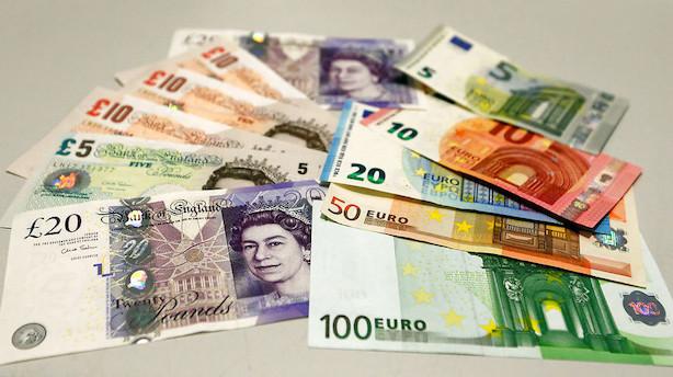 Valuta: Euro- og pundstyrkelse begrænses af fundamental dollar-støtte