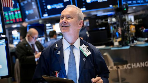 Aktiestatus i USA: Den positive stemning fortsætter - Cisco løfter it-aktierne
