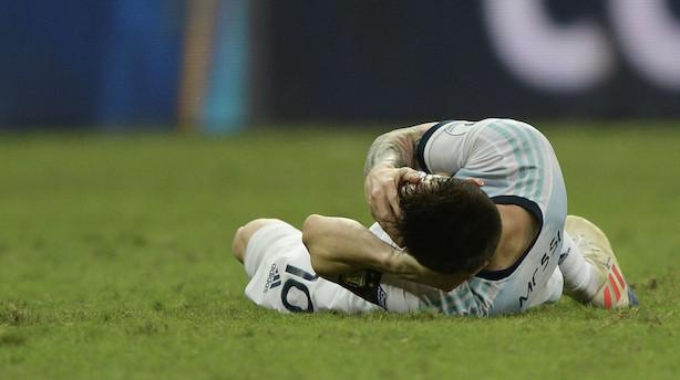 Messi har svært ved at acceptere premierenederlag