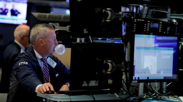 Aktietendens i USA: Rød åbning med fokus på teknologi, olie og orkanen Dorian