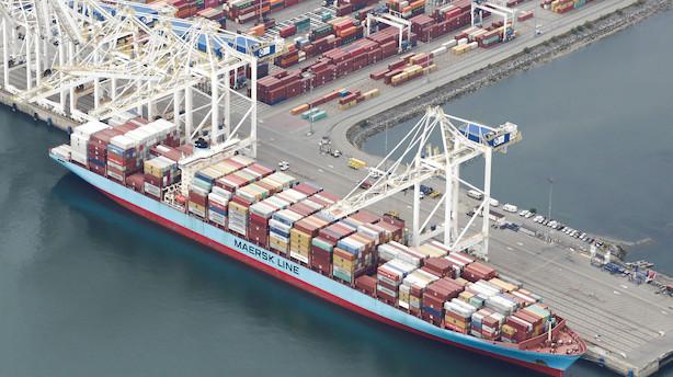 Hvor blev skibene af? Coronavirus smitter af på verdenshandlen