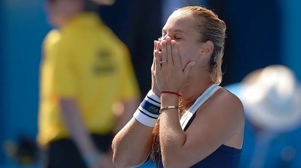 Chokfinalist i Australian Open: Det er en drøm