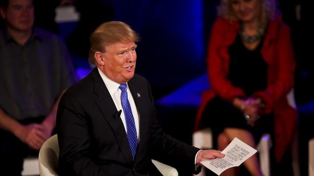 Trump dropper løfte om troskab i republikansk valgkamp