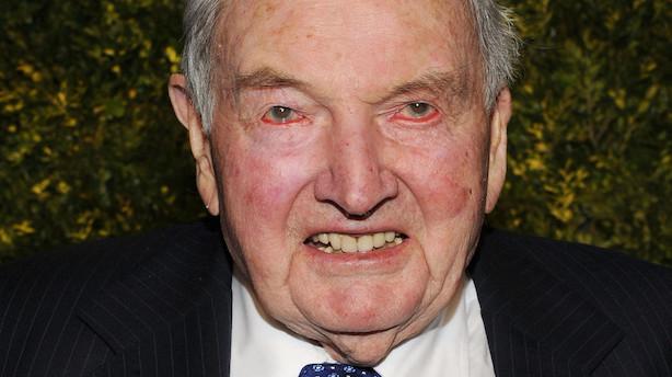 101-årig Rockefeller-patriark og logestifter er død