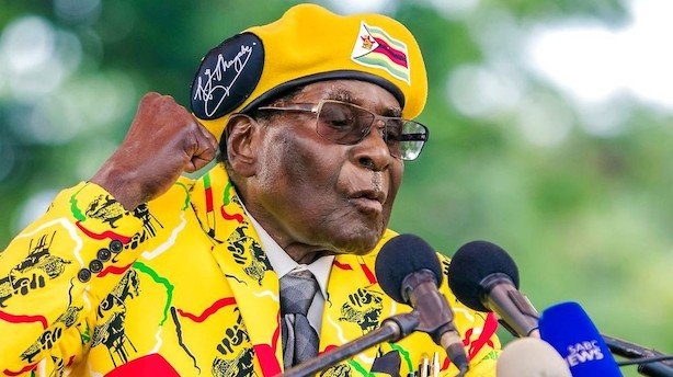Zimbabwes regeringsparti fyrer Mugabe som leder