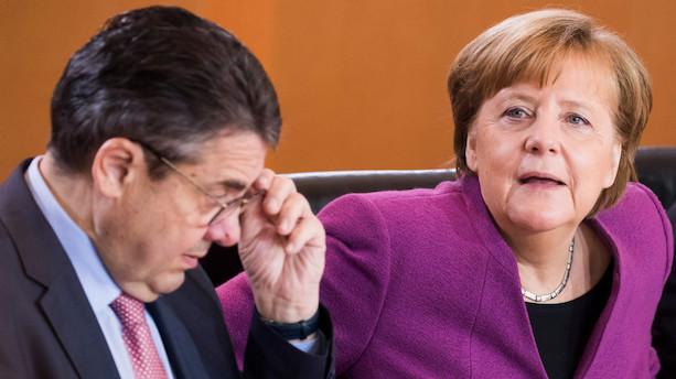 Tysk SPD-veteran bliver ikke en del af ny regering