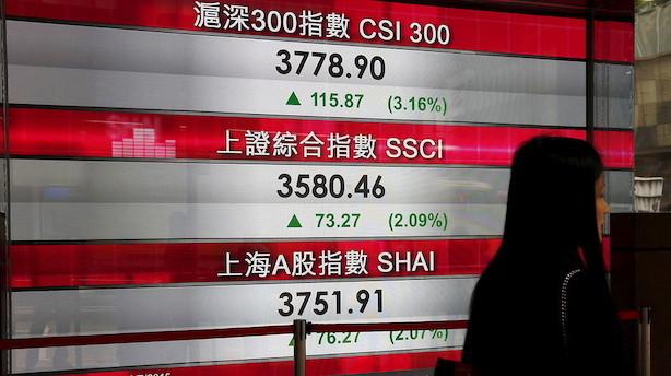 Aktier: Stigninger uden for Japan efter handelshåb