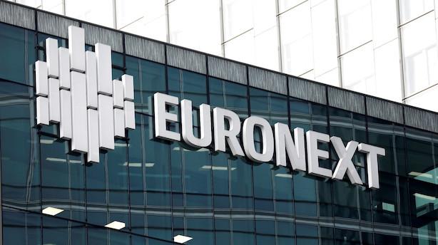 Euronext svarer tilbage i budkrig om Oslo Børs: Hæver købstilbud