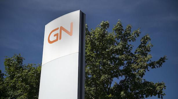 Aktieåbning: GN Store Nord stryger til tops i svag positivt marked