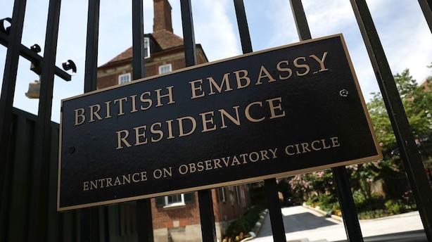 Avis: Politiet udpeger mistænkt i sag om ambassadør-læk