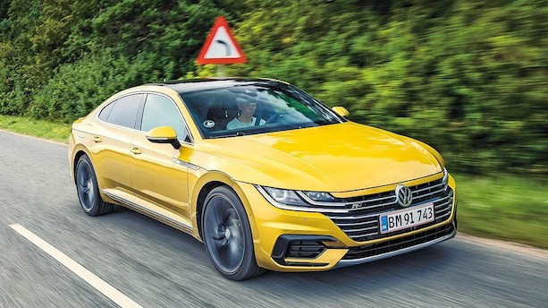 Duel: VW's nye flagskib møder solid BMW